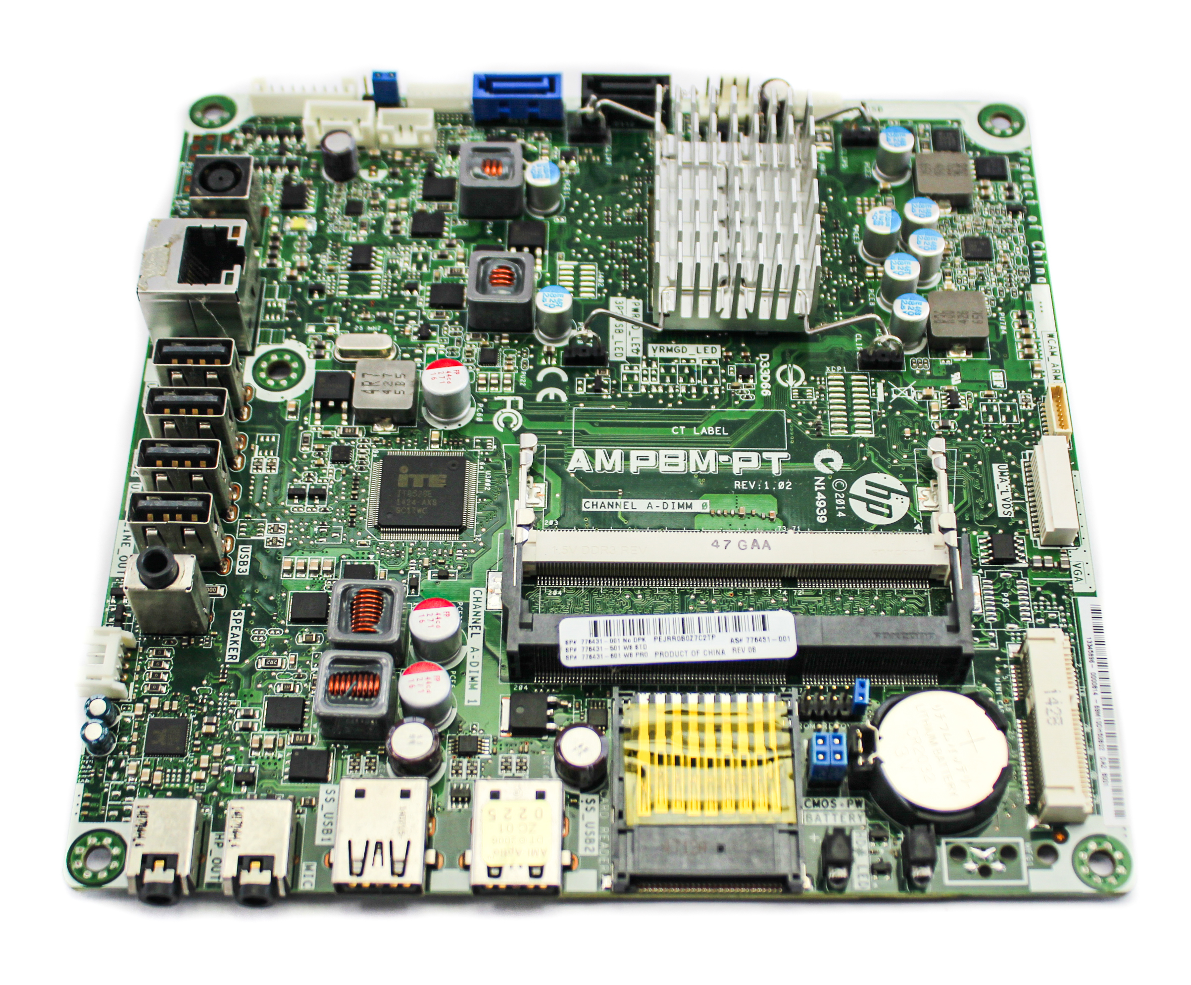 HP 776431-001 All-in-one PC Motherboard AMPBM-PT /w AMD A4-6210